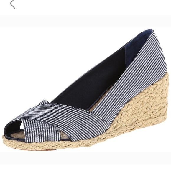 1f5d59fd9300 Lauren Ralph Lauren Shoes - Ralph Lauren Cecilia wedge espadrille